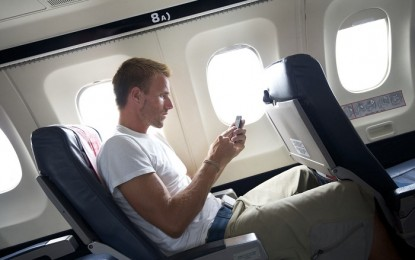 Yes, You Can Use Your Phone On a Plane. Just Not to Talk