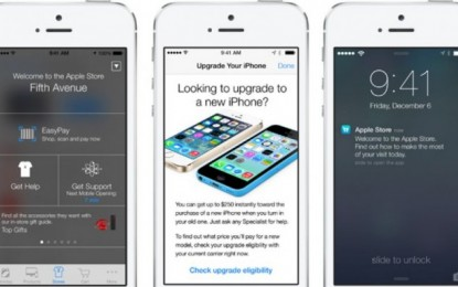 Apple to precisely locate shoppers within its stores using iBeacon technology