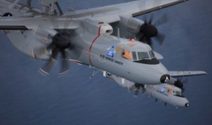 New Hawkeye aircraft is US Navy's 'digital quarterback'