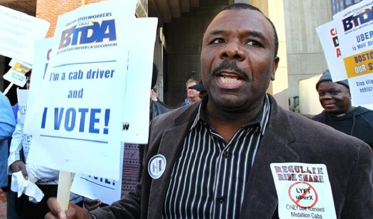 Uber, Lyft, Cabbies Spar Over Boston Regulations