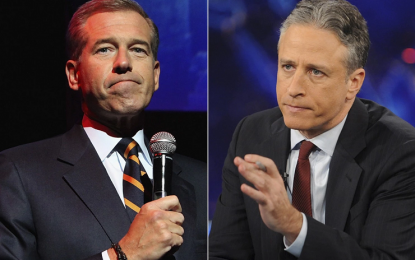 Why Jon Stewart and Brian Williams should just switch jobs