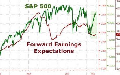 "Stocks Spike On ""Good Jobs"" As Crude Crashes"