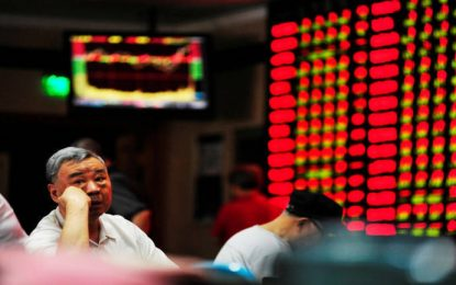 Asian Markets Struggle After Wall Street Losses