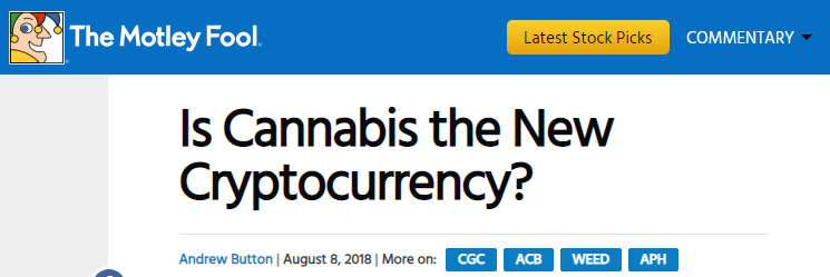 Is Cannabis The New Crypto?