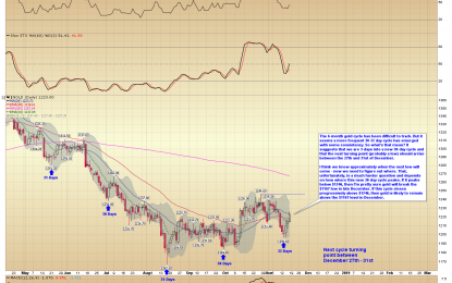 E                                                                          Gold Entering New Cycle