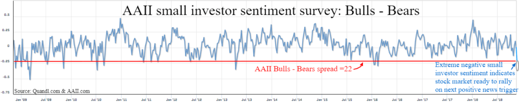 Small Stock Investors Panic At The Lows