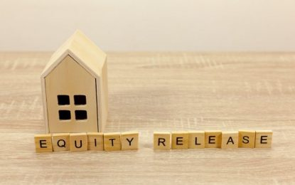 How has the equity release market faced during 2020?